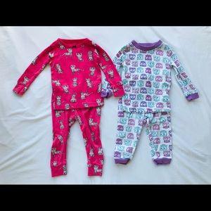 (2) 12 Month 2-piece Pajamas